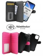 Skimblocker XL Magnet Wallet iPhone 12 (6.1)