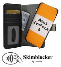 Skimblocker Magnet Wallet Asus ZenFone 8 (ZS590KS)
