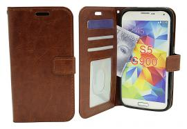Crazy Horse wallet Samsung Galaxy S5