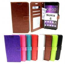 Crazy Horse Wallet Nokia 6