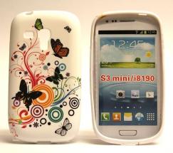 TPU Designcover Samsung Galaxy S3 Mini (Fjärilar)