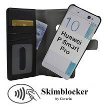 Skimblocker Magnet Wallet Huawei P Smart Pro