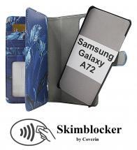 Skimblocker XL Magnet Designwallet Samsung Galaxy A72 (A725F/DS)