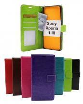 Crazy Horse Wallet Sony Xperia 1 III (XQ-BC52)