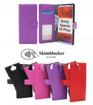 Skimblocker Magnet Wallet Sony Xperia 10 Plus
