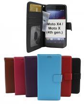 New Standcase Wallet Motorola Moto X4 / Moto X (4th gen)