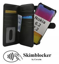 Skimblocker XL Magnet Wallet Nokia 6.2 / 7.2