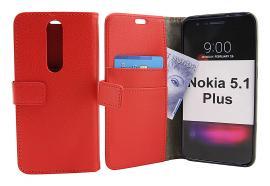 Standcase Wallet Nokia 5.1 Plus