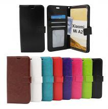 Crazy Horse Wallet Xiaomi Mi A2