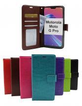 Crazy Horse Wallet Motorola Moto G Pro