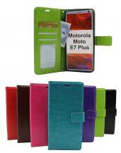 Crazy Horse Wallet Motorola Moto E7 Plus
