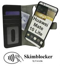 Skimblocker Magnet Wallet Huawei Mate 10 Lite