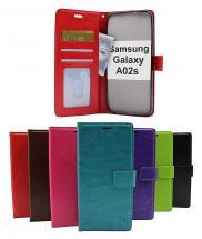 Crazy Horse Wallet Samsung Galaxy A02s (A025G/DS)