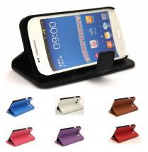 Standcase wallet Samsung Galaxy Core Plus (G3500)