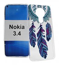 TPU Designcover Nokia 3.4