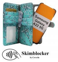 Skimblocker XL Magnet Designwallet Samsung Galaxy A22 5G (SM-A226B)