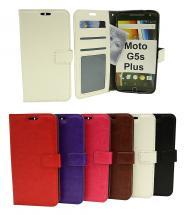 Crazy Horse Wallet Moto G5s Plus (XT1806)