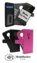 Skimblocker Magnet Wallet Motorola Moto E5 Play