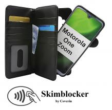 Skimblocker XL Magnet Wallet Motorola One Zoom