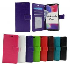 Crazy Horse Wallet Motorola One