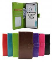 Crazy Horse Wallet Samsung Galaxy A21s (A217F/DS)
