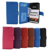 New Standcase Wallet Huawei Honor 7 (PLK-L01 / PLK-AL10)