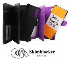 Skimblocker XL Magnet Wallet Sony Xperia 10 III (XQ-BT52)