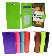 Crazy Horse Wallet Huawei P Smart