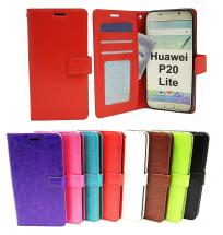 Crazy Horse Wallet Huawei P20 Lite