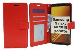 Crazy Horse Wallet Samsung Galaxy A8 2018 (A530FD)