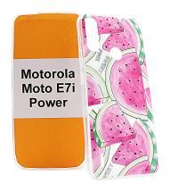 TPU Designcover Motorola Moto E7i Power
