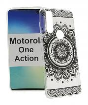 TPU Designcover Motorola One Action