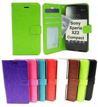 Crazy Horse Wallet Sony Xperia XZ2 Compact (H8324)