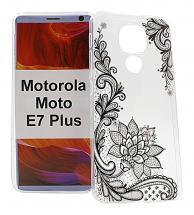 TPU Designcover Motorola Moto E7 Plus