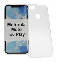 Ultra Thin TPU Cover Motorola Moto E6 Play
