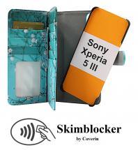 Skimblocker XL Magnet Designwallet Sony Xperia 5 III (XQ-BQ52)