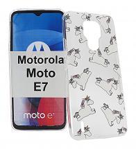 TPU Designcover Motorola Moto E7