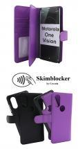 Skimblocker XL Magnet Wallet Motorola One Vision