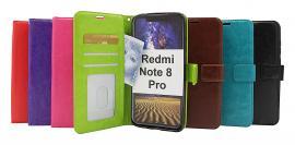 Crazy Horse Wallet Xiaomi Redmi Note 8 Pro