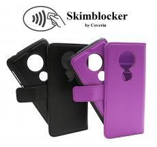 Skimblocker Magnet Wallet Motorola Moto G6 Play