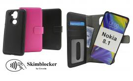 Skimblocker Magnet Wallet Nokia 8.1