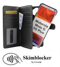 Skimblocker XL Magnet Wallet Motorola Moto G 5G Plus