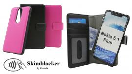 Skimblocker Magnet Wallet Nokia 5.1 Plus