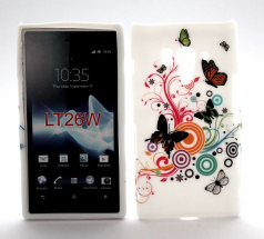 TPU Designcover Sony Xperia Acro S (LT26w)