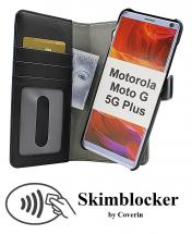 Skimblocker Magnet Wallet Motorola Moto G 5G Plus