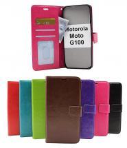 Crazy Horse Wallet Motorola Moto G100