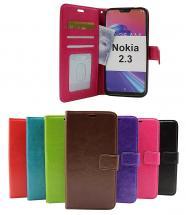 Crazy Horse Wallet Nokia 2.3