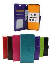 Crazy Horse Wallet ZTE Axon 30 Ultra 5G