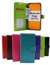 Crazy Horse Wallet Motorola Edge 20 Pro