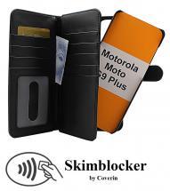 Skimblocker XL Magnet Wallet Motorola Moto G9 Plus
